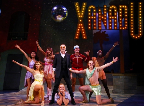 XANADU, the musical comedy by Douglas Carter Beane, at Connecticut Repertory Theatre - July 2015