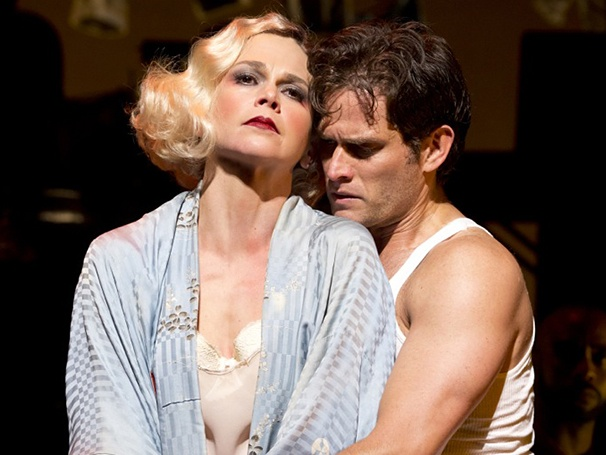Steven Pasquale and Sutton Foster in The Wild PartyProduction images by Joan Marcus