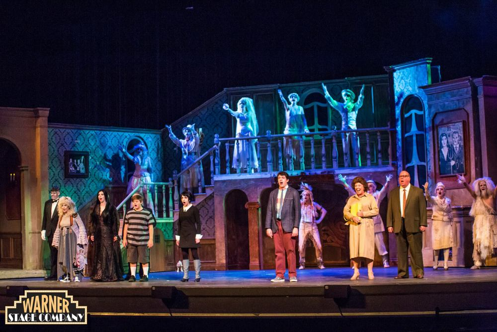 Photos of the cast of 'Addams Family'  Photos by Mandi Martini and Luke Haughwout ©The Warner Theatre 2015