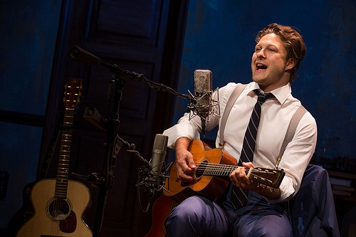 Benjamin Scheuer in The Lion (Photo Credit: Merrimack Repertory Theatre)