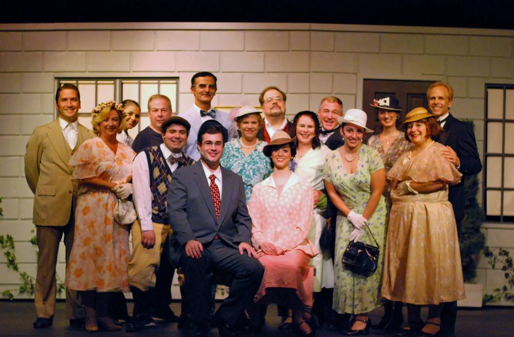 "The Cast of ""She Loves Me"" Photo: Broad Brook Opera House"