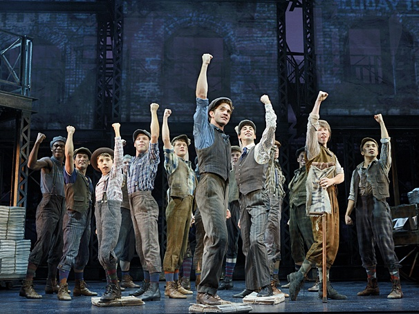 "Touring Company of ""Newsies"""