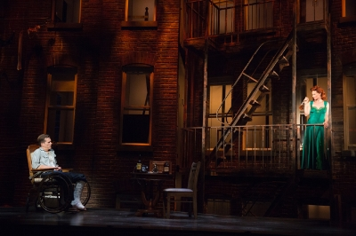 """Rear Window"" at Hartford Stage   Photo: Joan Marcus"
