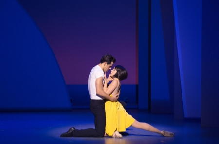 """An American in Paris"" at Theatre du Chatelet in Paris. The production starts previews on Broadway in March. Pictured: Robert Fairchild and Leanne Cope. (Photo by Angela Sterling"
