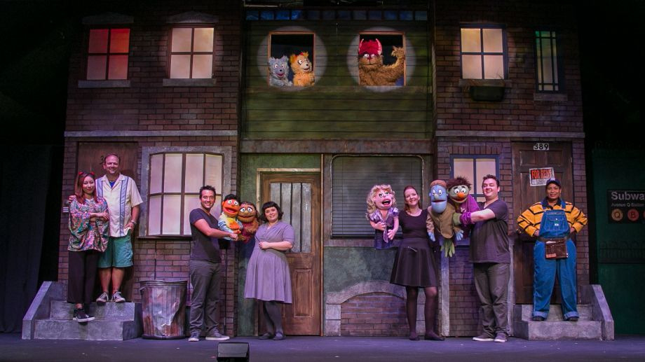 Theatreworks New Milford's production of Avenue Q Photo/Rich Pettibone