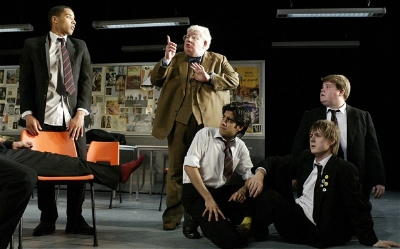 The History Boys at the Lyttelton Theatre, 2004 Photo: Alastair Muir