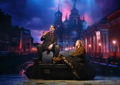 Derek Klena and Christy Altomare. Photo: Joan Marcus