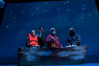 Brigit Smith, Felix Teich*, William Gardiner*, Bryan T. Donovan*. Courtesy Stoneham Theatre