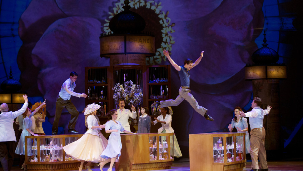 The cast of An American in Paris (Angela Sterling)