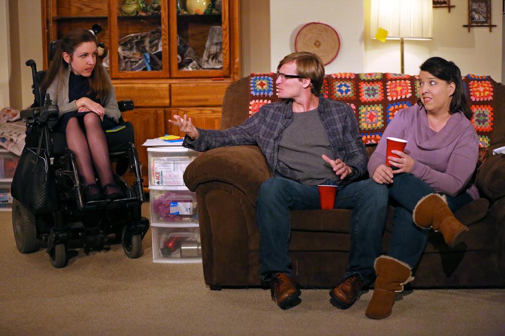Shannon DeVido, John McGinty & Jamie Petrone Photo: Carol Rosegg