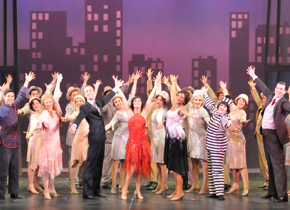 Photo Credit: Full Company of Thoroughly Modern Millie. Courtesy Reagle Music Theatre/©Herb Philpott