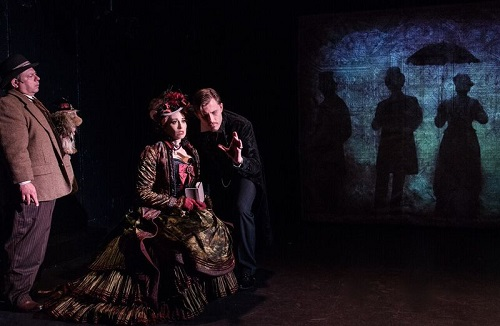 Photo: Danny Rutigliano, Lesli Margherita and PJ Griffith. Credit: Russ Rowland.
