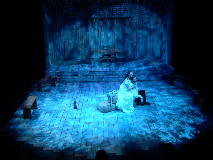 The Crucible @ Henderson State University Stage Lighting Design by Douglas Gilpin