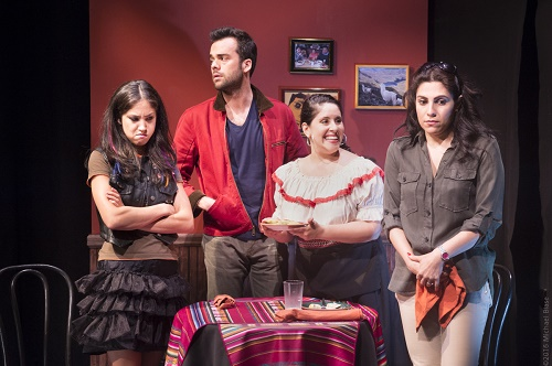 Photo credit: Photo: Connie Saltzman, Andres de Vengoechea, Gladys Perez, and Vanessa Verduga. Credit: Michael Blase.