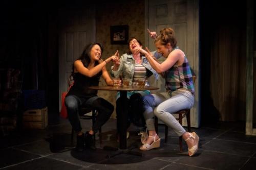 Satomi Blair, Megan Hill, & Emily Kunkel in KENTUCKY by Leah Nanako Winkler , Photo by Jody Christopherson