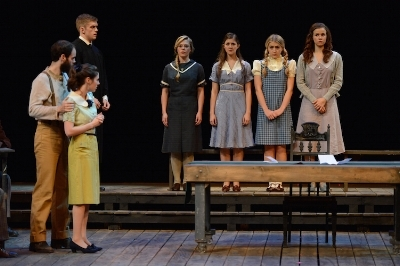 Ball States' productionof The Crucible. bsu.edu