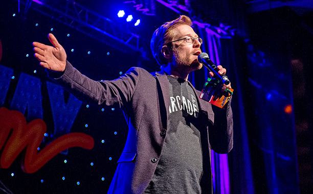 Anthony Rapp at BroadwayCon