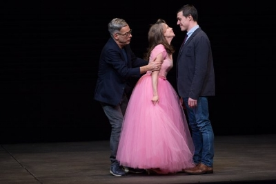Joe Mantello, Sally Field, and Finn Wittrock Photo Credit: Julieta Cervantes