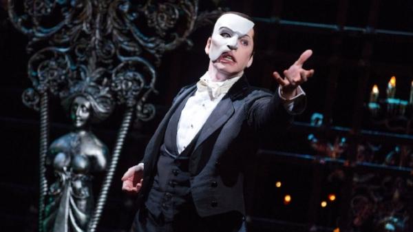 James Barbour as The Phantom of the Opera. Photo:Matthew Murphy