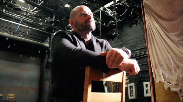 Playwright and pro-wrestler Jason Static