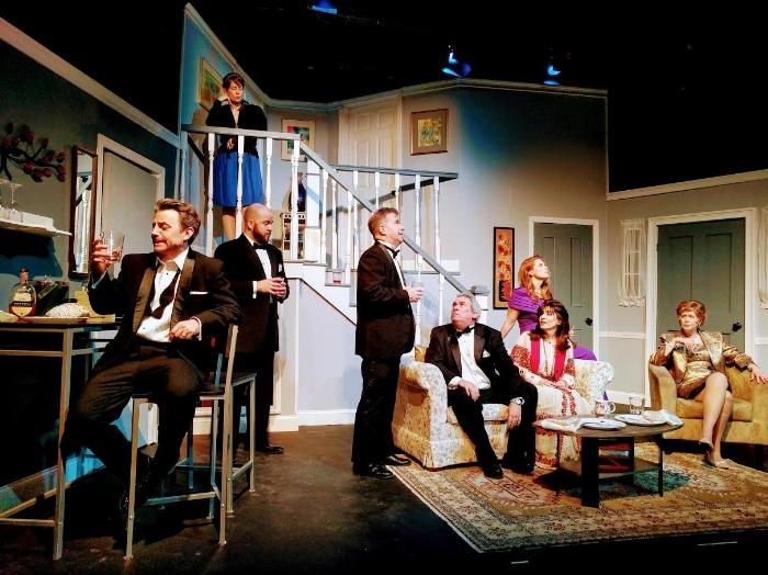 "Ridgefield Theatre Barn 's production of ""Rumors"""