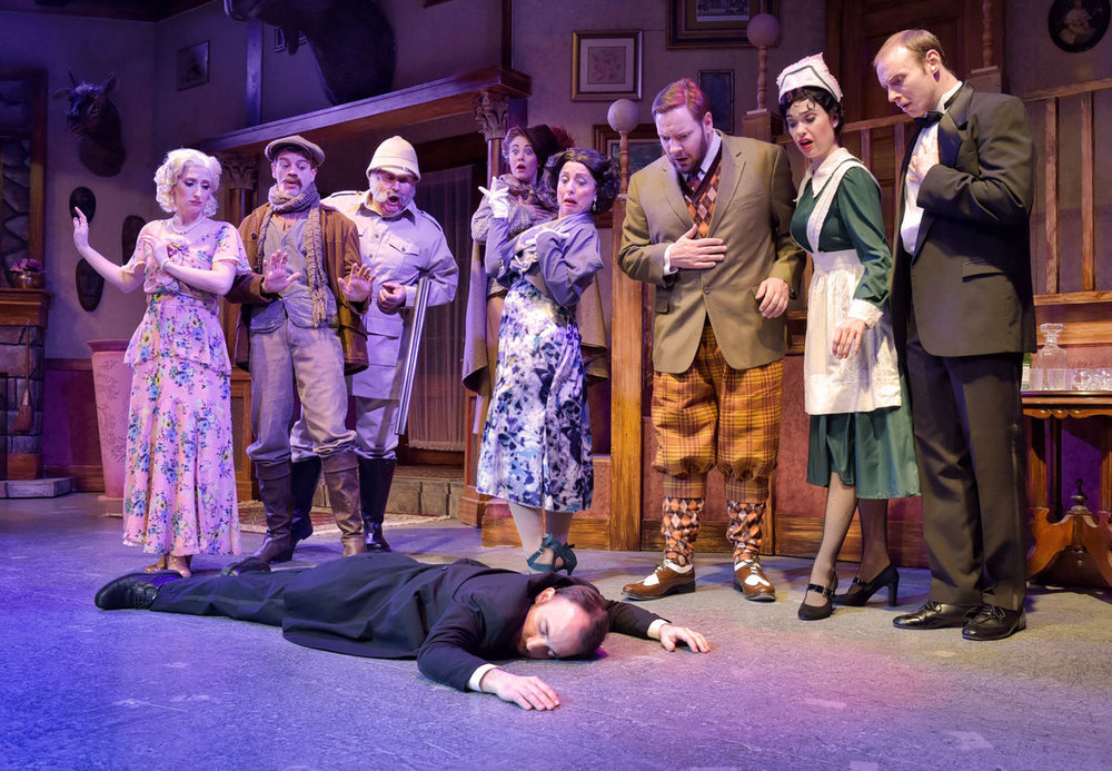 "Dutch Apple Dinner Theatre's ""Something's Afoot"""