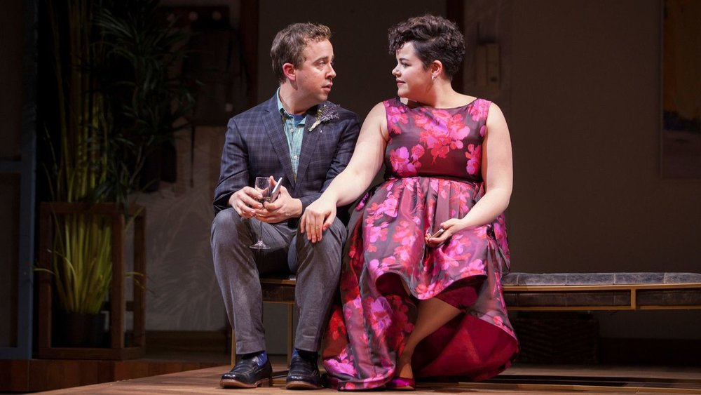"""Will Von Vogt and Melanie Field in the Geffen Playhouse's production of """"Significant Other."""" (Chris Whitaker)"""
