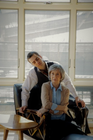 Peggy J. Scott and Daniel Petzold  (Credit: Rana Faure)