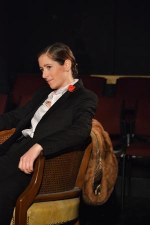 Kaitlyn Riordan in Maggie & Pierre. Photo by Greg Wong