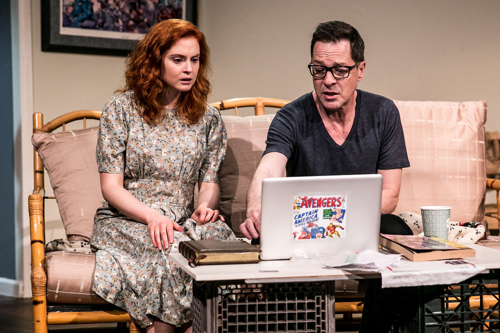 Emily Goss and French Stewart in FOREVER-BOUND Photo by Kathy Flynn
