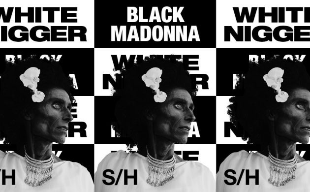 """The original title and posted for """"Black Madonna"""""""