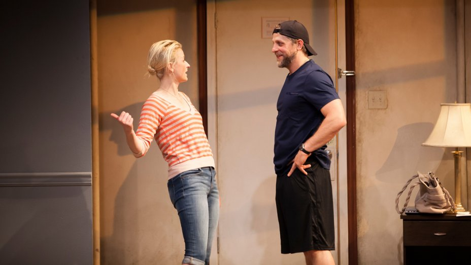 Joe Tippett and Mamie Gummer in  Our Very Own Carlin McCullough  (Chris Whitaker)