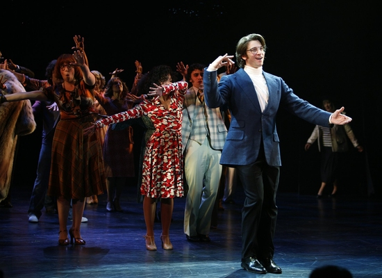 """Andy Karl as Joe in the Broadway production of """"9 to 5"""" (Walter McBride/Retna Ltd)"""