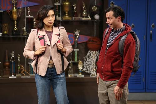 "Photo: Tiffany Villarin and Gregg Mozgala in ""Teenage Dick."" Credit: Carol Rosegg."