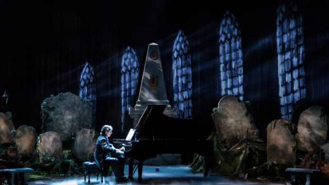 Hershey Felder as Beethoven in BEETHOVEN - Photo by Christopher Ash