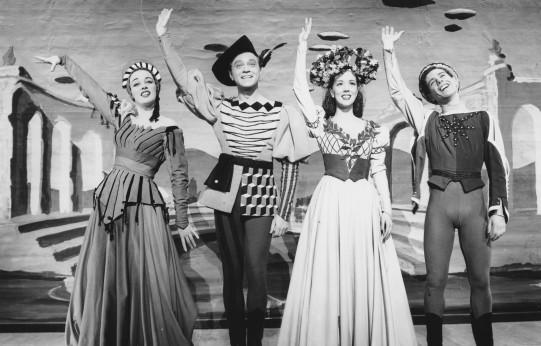 The original Broadway cast of Kiss Me Kate