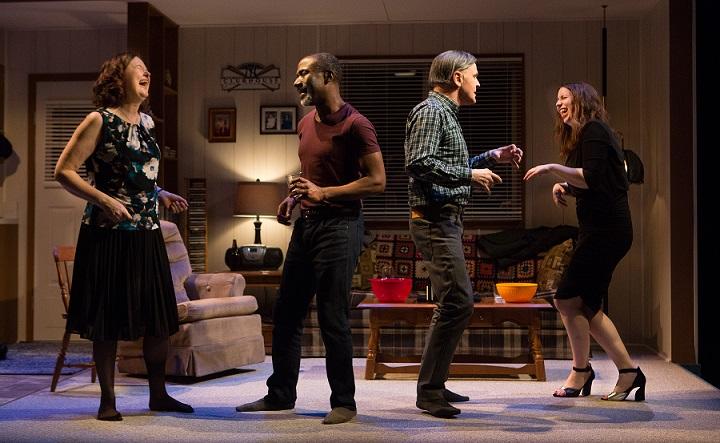 Caroline Gillis, Andrew Moodie, Daniel MacIvor and Stephanie MacDonald in New Magic Valley Fun Town - Photo by Cylla von Tiedemann.jpg