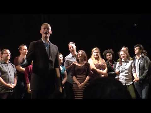Gene Fisch Jr. at the NYNW Theatre Festival