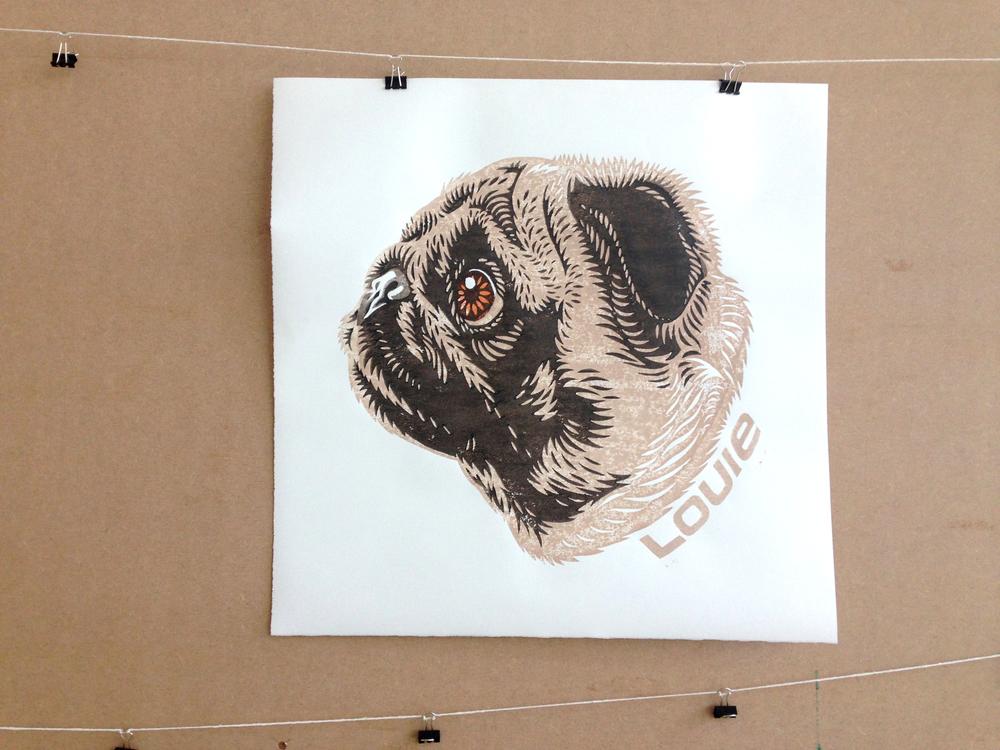 Louie the Pug