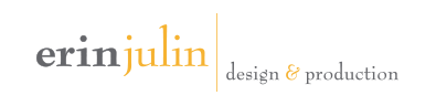 Erin Julin Design & Production