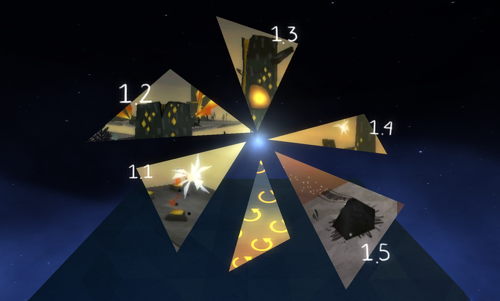 Level Selection - World 1