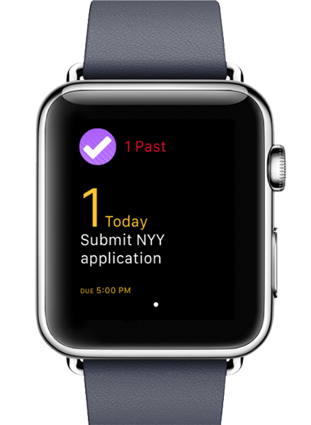 Apple Watch Omnifocus App