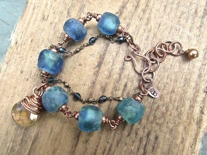 Handmade Boho Jewelry, Handmade Bohemian Bracelet