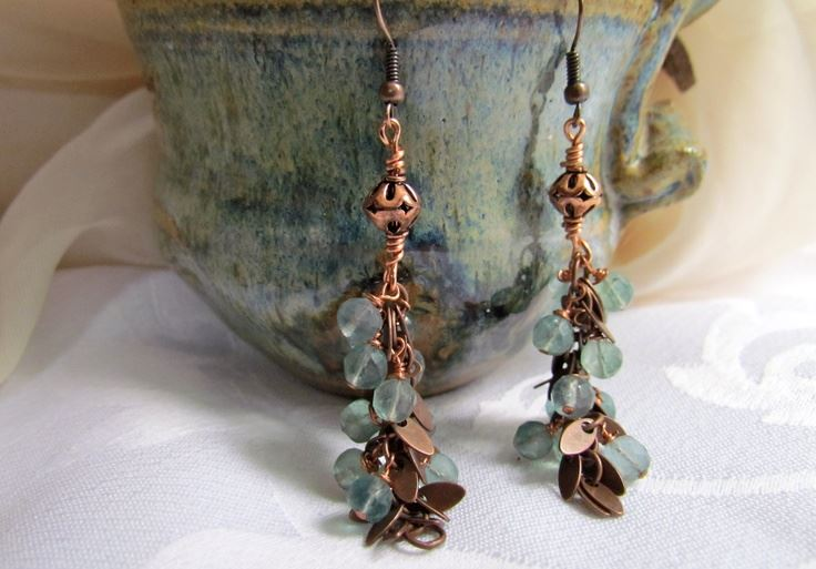 Handmade Boho Earrings, Handmade Boho Jewelry
