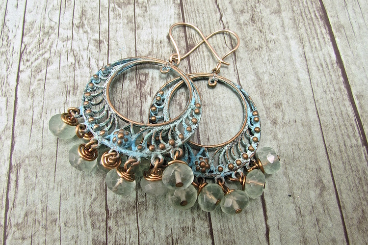 Handmade Boho Jewelry, Handmade Bohemian Earrings