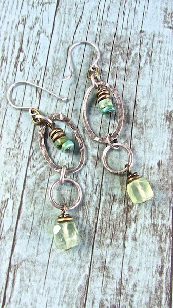 Handmade Boho Jewelry, Handmade Boho Earrings