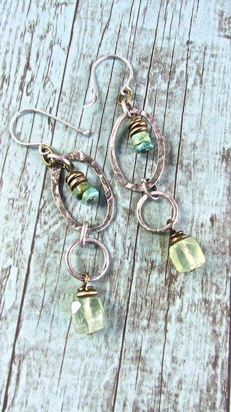 Handmade Boho Jewelry, Handmade Boho Earrings