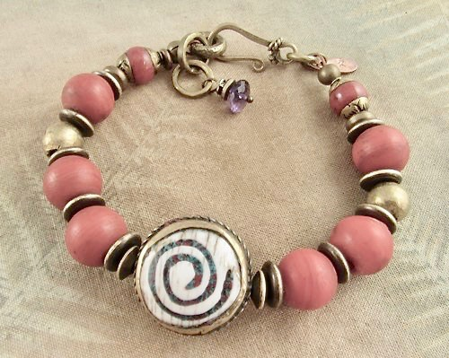 Yoga jewelry, boho chic jewelry