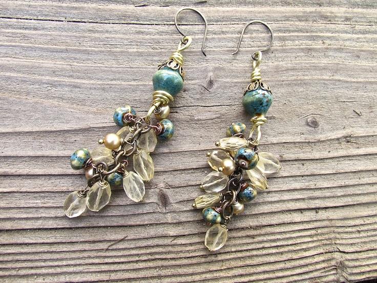 Boho Luxe Statement Earrings