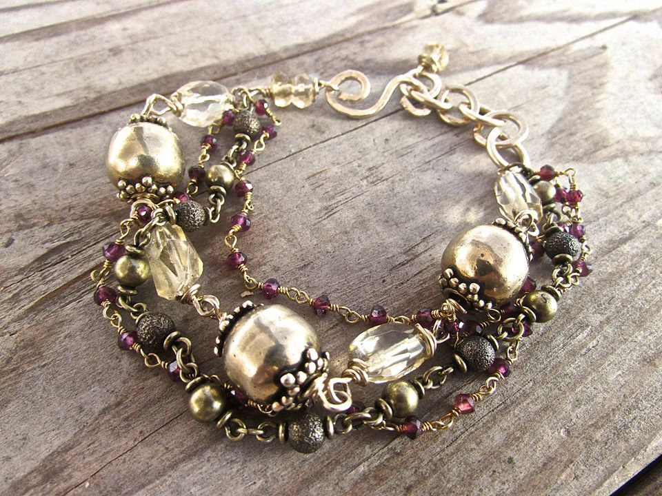 handmade amethyst jewelry, boh luxe jewelry